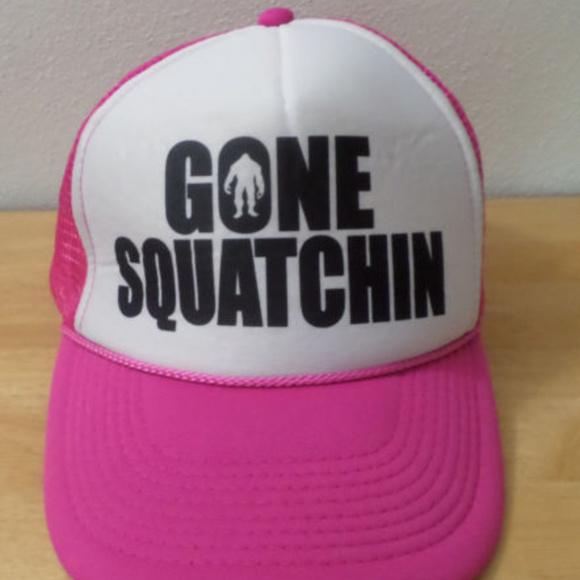 Gone Squatchin Snap-Back Mesh BigFoot Trucker Hat